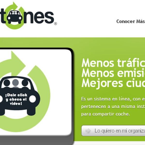 Aventones es un portal que facilita y promueve la cultura del uso compartido del automóvil dentro de organizaciones. Es uno de los finalistas en la categoría 'Comunidad'.