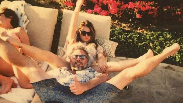 Se sabe que Tina Simpson mantiene una excelente relación con Eric Johnson, sin embargo esta imagen ha pasado los límites de lo permitido según la opinión de muchos fans.