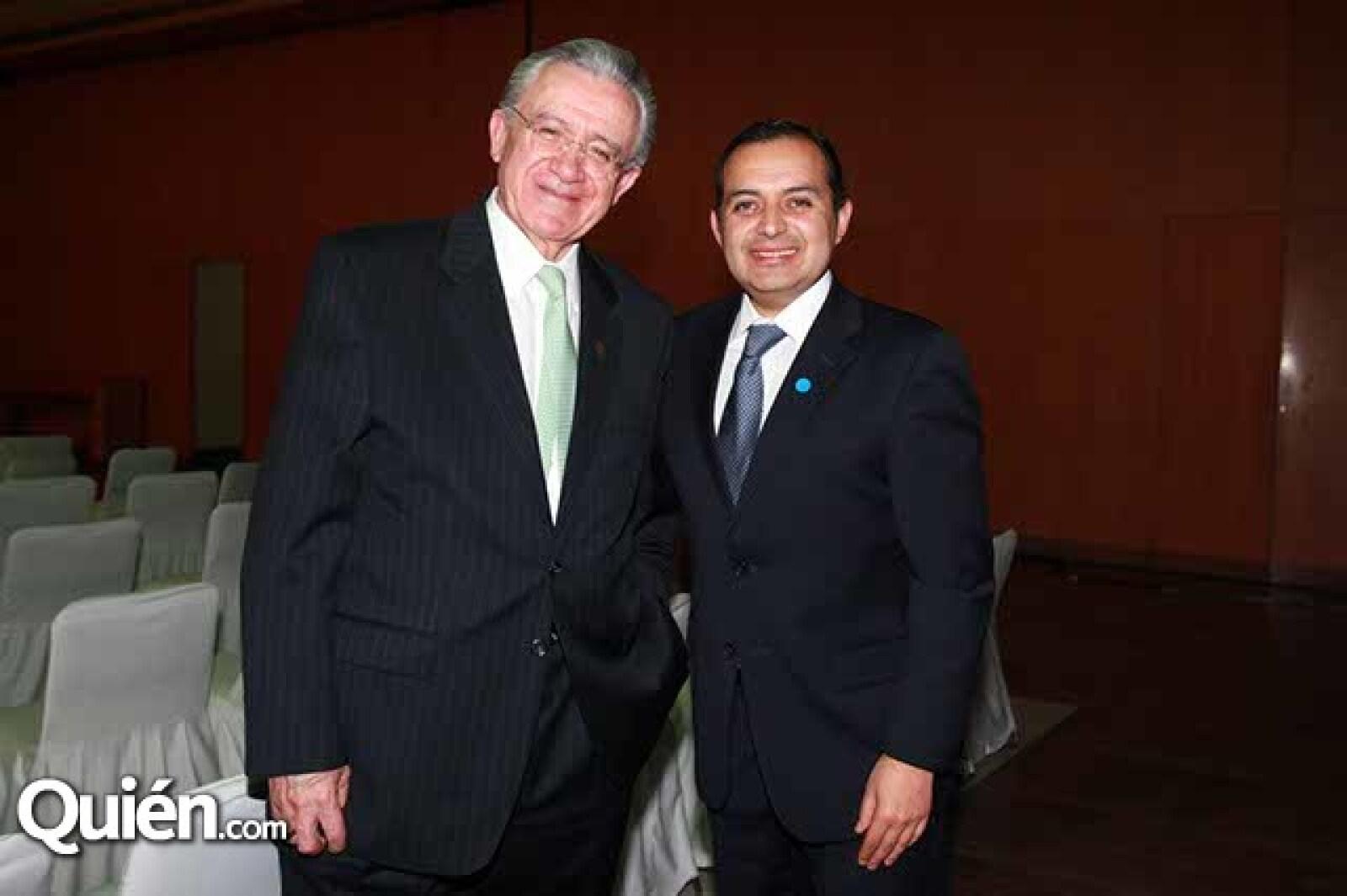 Fernando Familiar y Ernesto Cordero