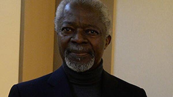 Annan dijo que las mujeres son un bloque importante de votantes y deben usar ese poder para buscar el cambio. (Foto: EFE)