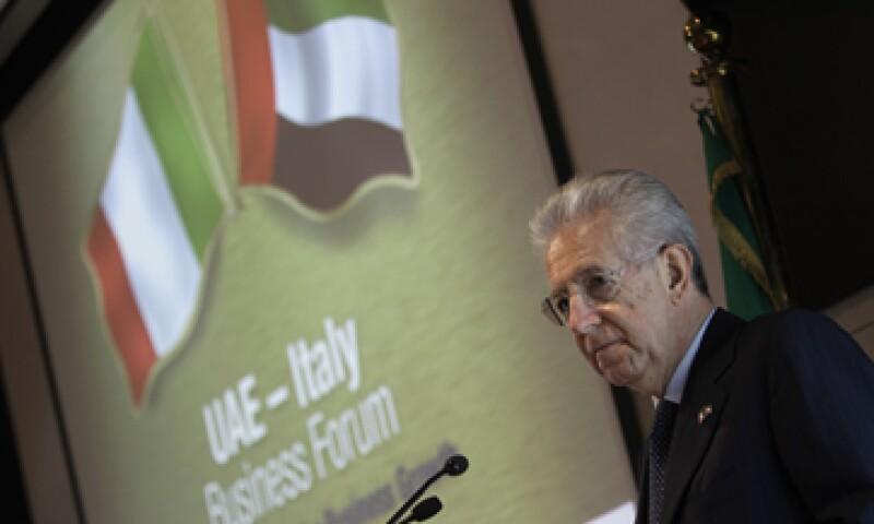 El premier Mario Monti hace una visita oficial a varios países del Golfo Pérsico. (Foto: AP)