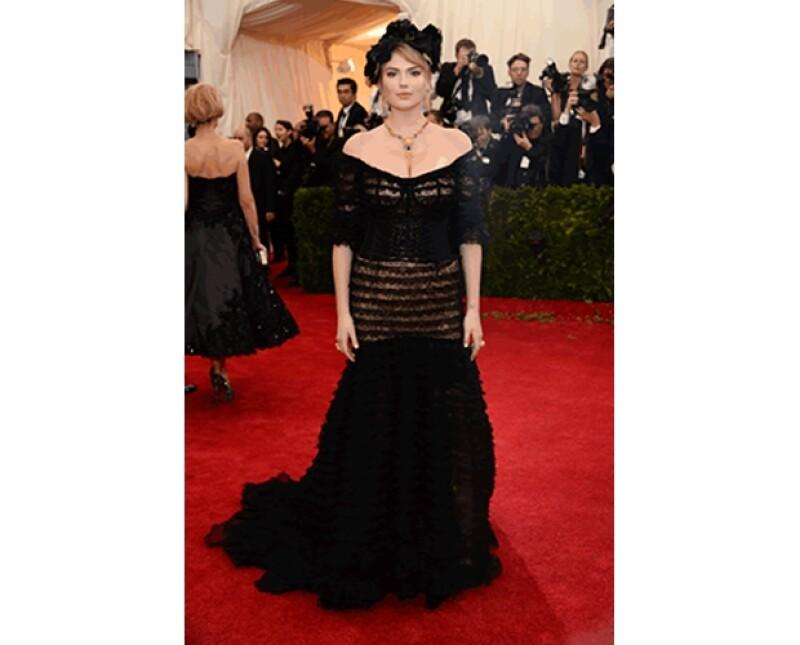 Kate Upton en Dolce & Gabbana
