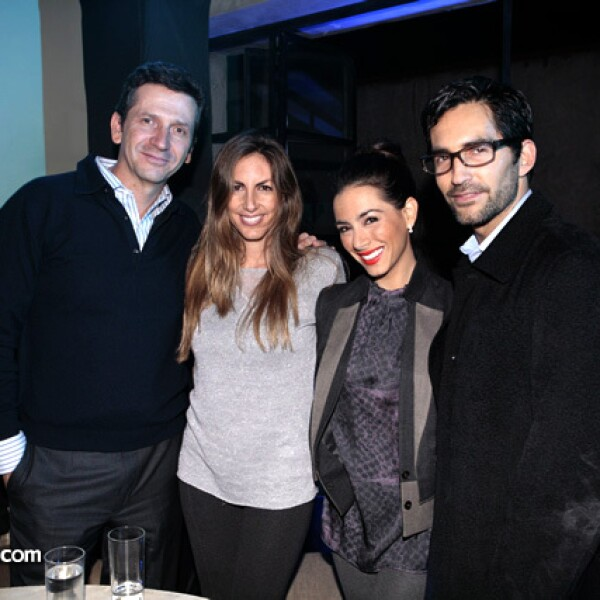 Arturo Filio, Vanessa Ifergan, Eamonn Sean y Claudia Lizaldi