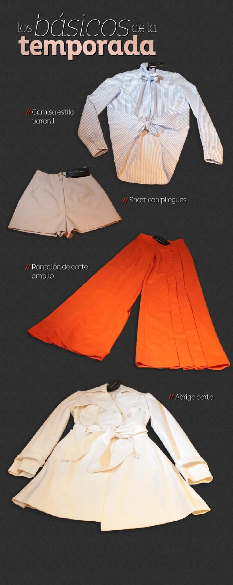 El diseñador de moda sugiere conseguir un estilo romántico y, a la vez, sensual combinando prendas ajustadas con holgadas en colores claros.