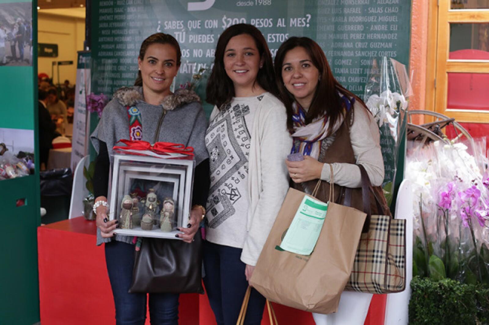 Luli Ramos,Cobadonga González y Blanca Sánchez