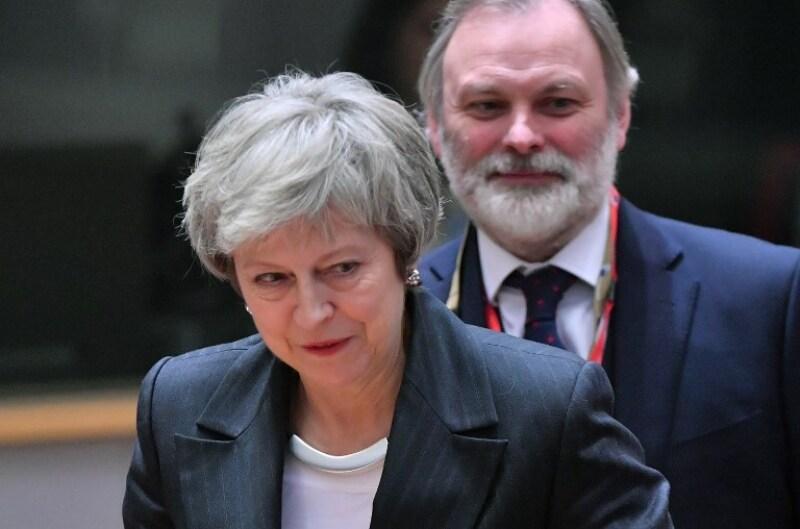 Theresa May Brexit Bruselas