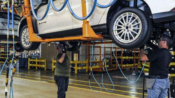 armado del Ford Focus