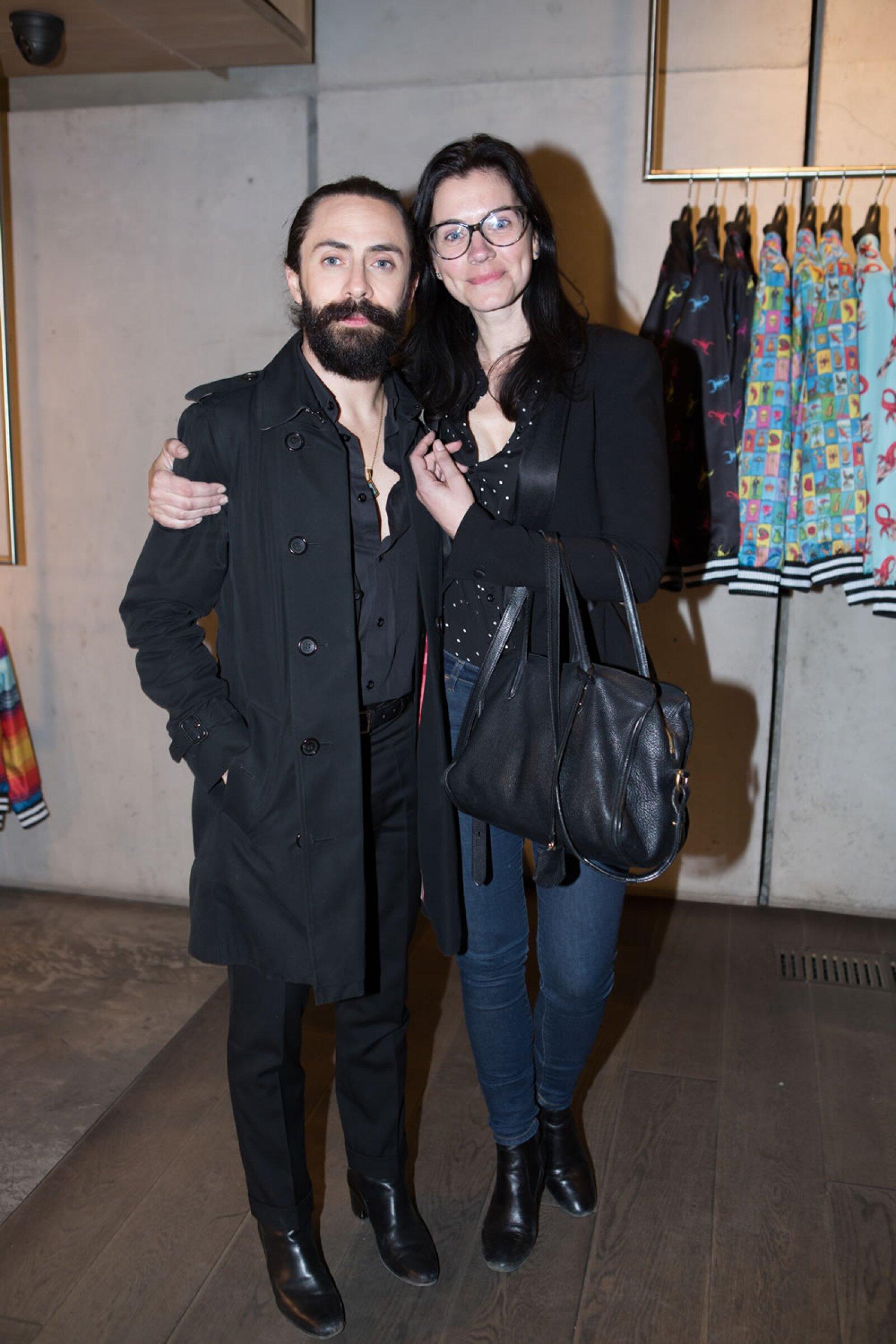 Coctel y cena navideña Ricardo Seco y Lorena Saravia