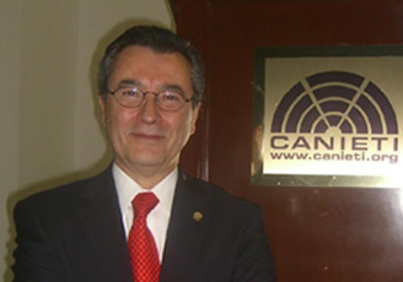 El nuevo presidente de la Canieti, Santiago Guitiérrez, presentó su plan de trabajo para el periodo 2010-2011 (Foto: Cortesía CANIETI)