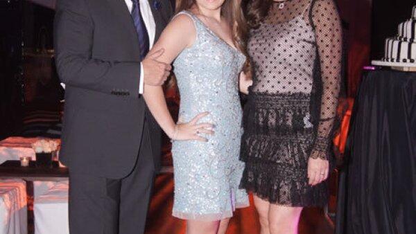 Ulrich y Renata Richter,Claudia Ramírez