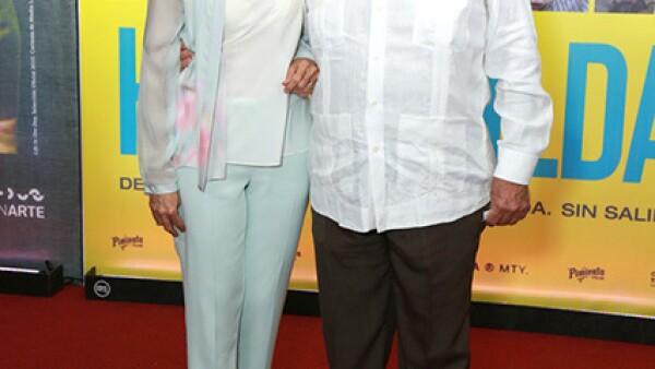 Alejandra Rangel y Eugenio Clariond.