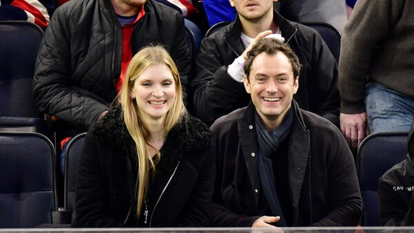 Celebrities at New Jersey Devils v New York Rangers, NHL ice hockey match, Madison Square Garden, New York, USA - 18 Dec 2016