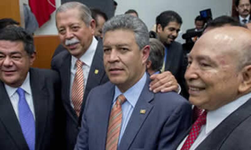 El legislador destacó los foros realizados para discutir la reforma energética. (Foto: Cuartoscuro)