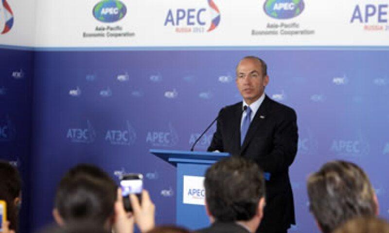 El presidente Felipe Calderón participó en la cumbre de la APEC. (Foto: Notimex)