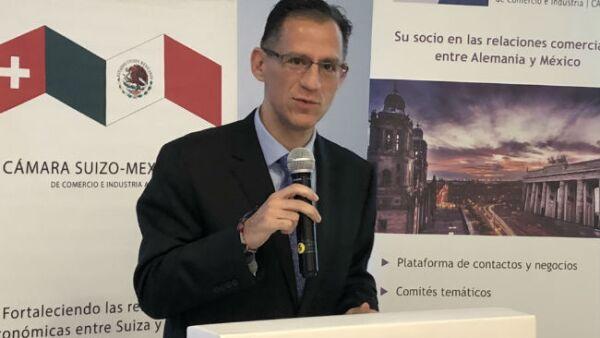 Kenneth Smith, jefe de negociadores t�cnicos del TLCAN o T-MEC