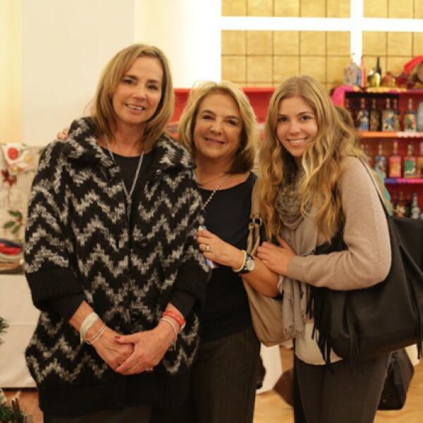 Gaby Blásquez,Olga Patricia Blásquez y Andrea Fernández