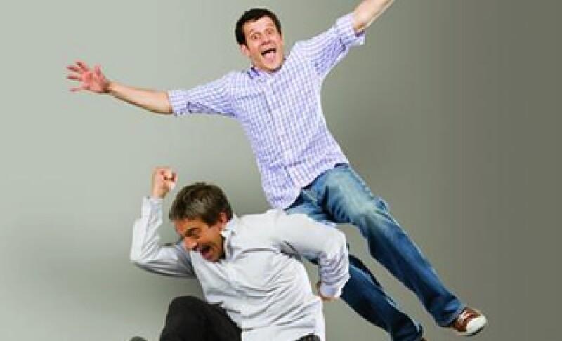 Joaquín Anderson y Daniel Galván-Duque. (Foto: Alex H.O.)