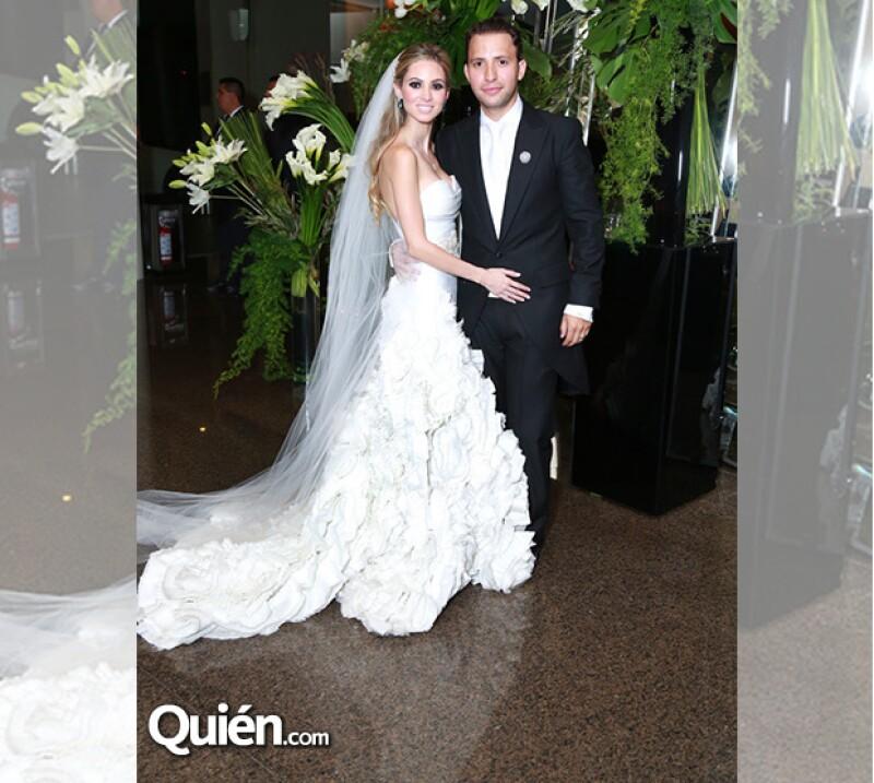 Lucía López y Diego Garza