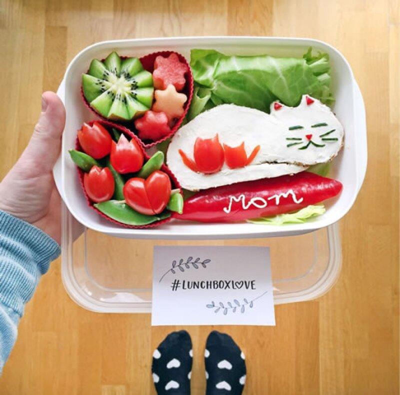 ¿Te imaginas sorprender a tus hijos con un lunch así?