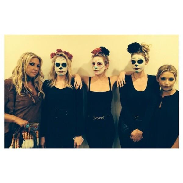 Un maquillaje de catrina, fue la cubierta para Kate Hudson en estas fechas, quien hace unos días asistió a la fiesta de Halloween del tequila Casamigos.