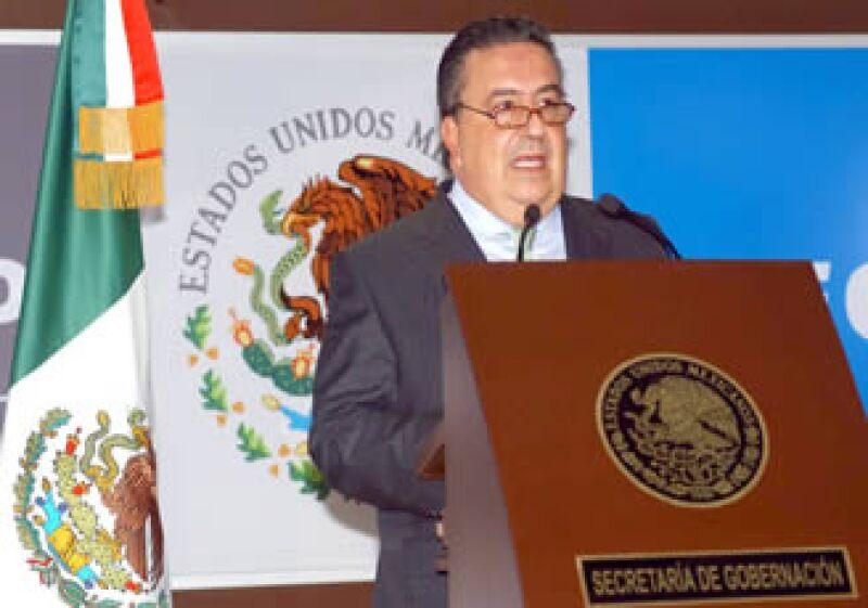 En su comparecencia ante la Cámara de Diputados, el secretario de Gobernación dijo que sería irresponsable ignorar la complejidad y la dimensión de los problemas que nuestro país enfrenta. (Foto: Notimex)