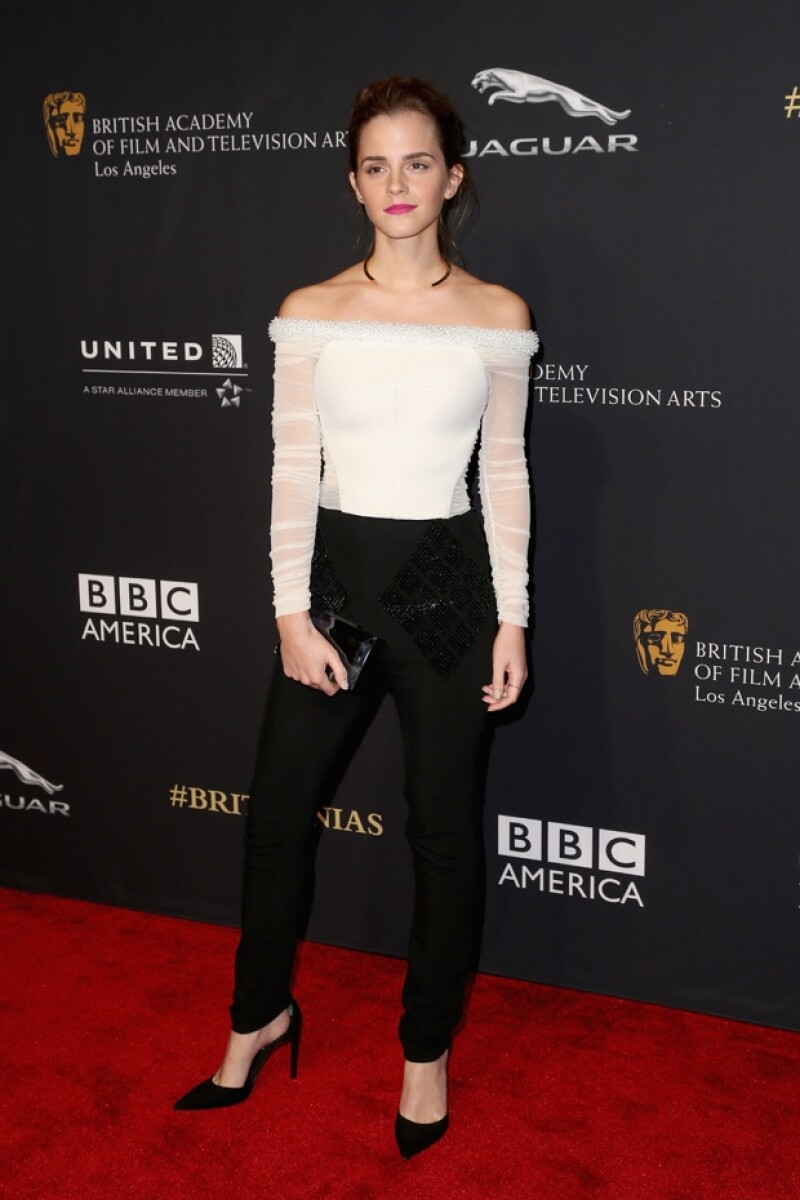 """La actriz fue reconocida como la Actriz Británica del Año por la comunidad de los BAFTA en Los Ángeles y ella lo agradeció con una anéctoda del roedor que tuvo cuando actuó en """"Harry Potter I""""."""
