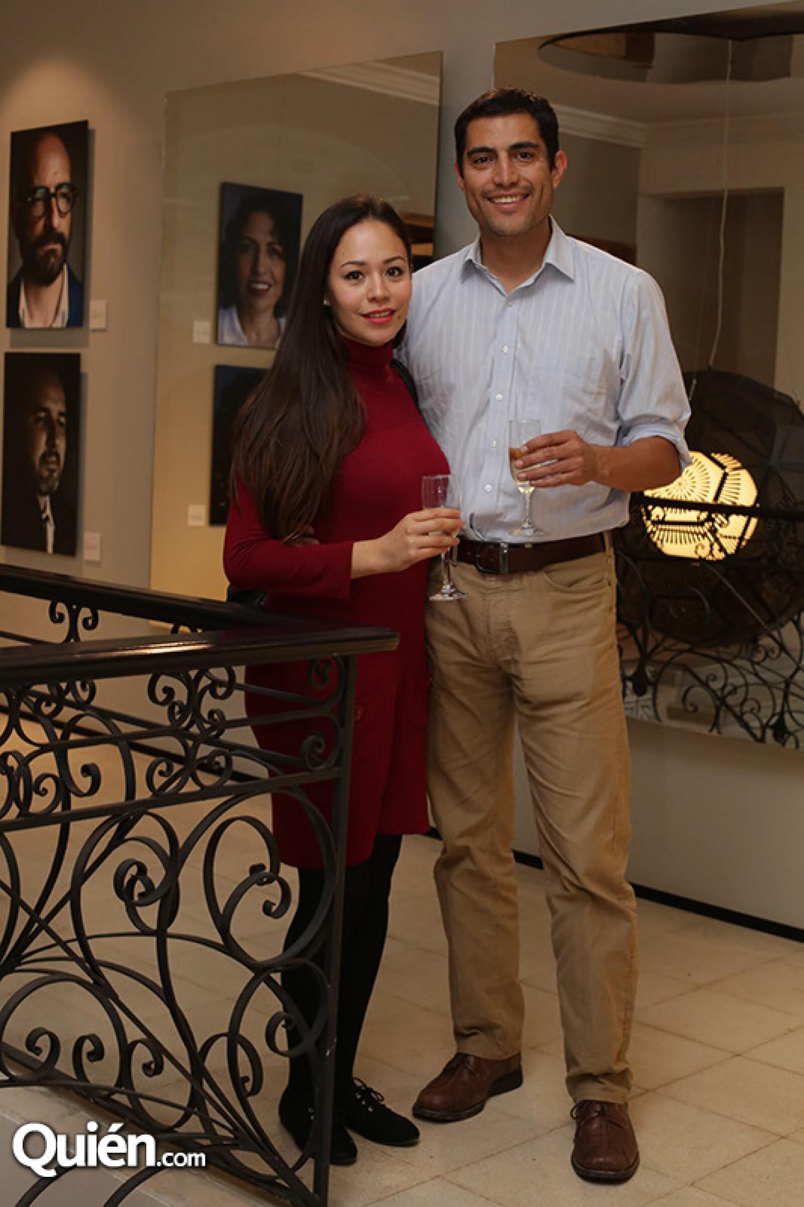 Natalia Guzmán y Luis Ramírez