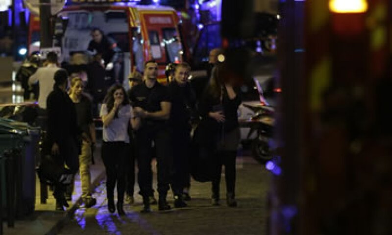 Se registraron seis tiroteos y explosiones en la capital francesa (Foto: AFP )