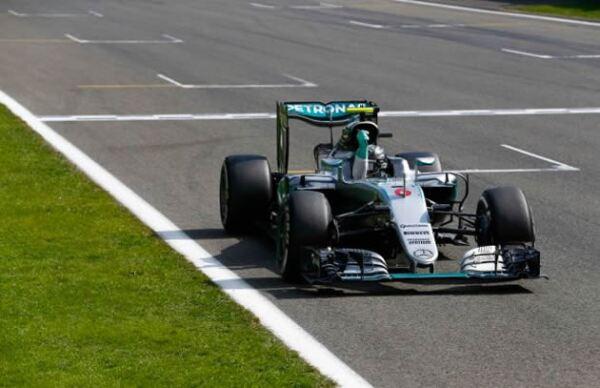 Mercedes-AMG F1 de Nico Rosberg