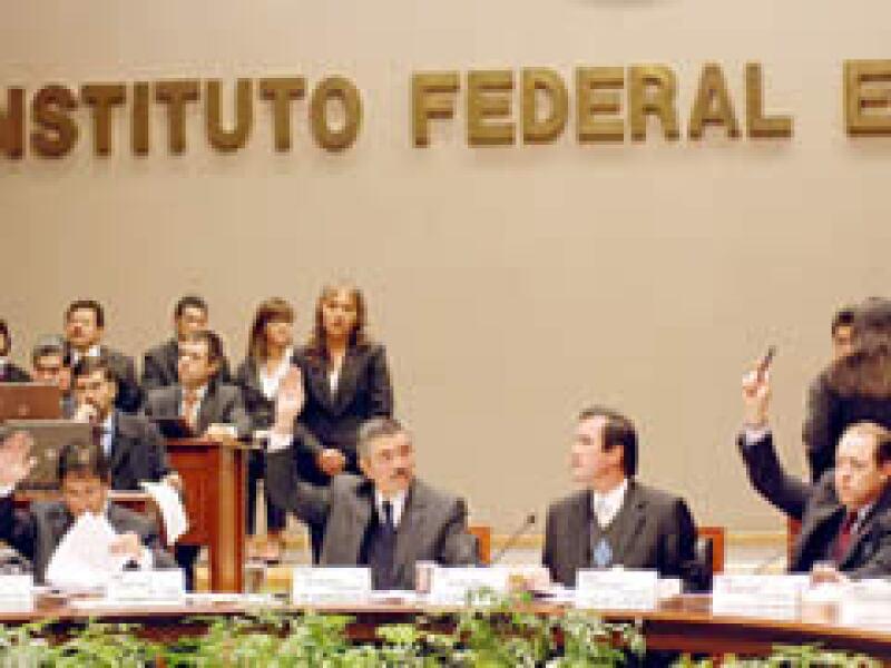 El acuerdo aprobado por el IFE será publicado en el Diario Oficial de la Federación (Foto: Notimex)