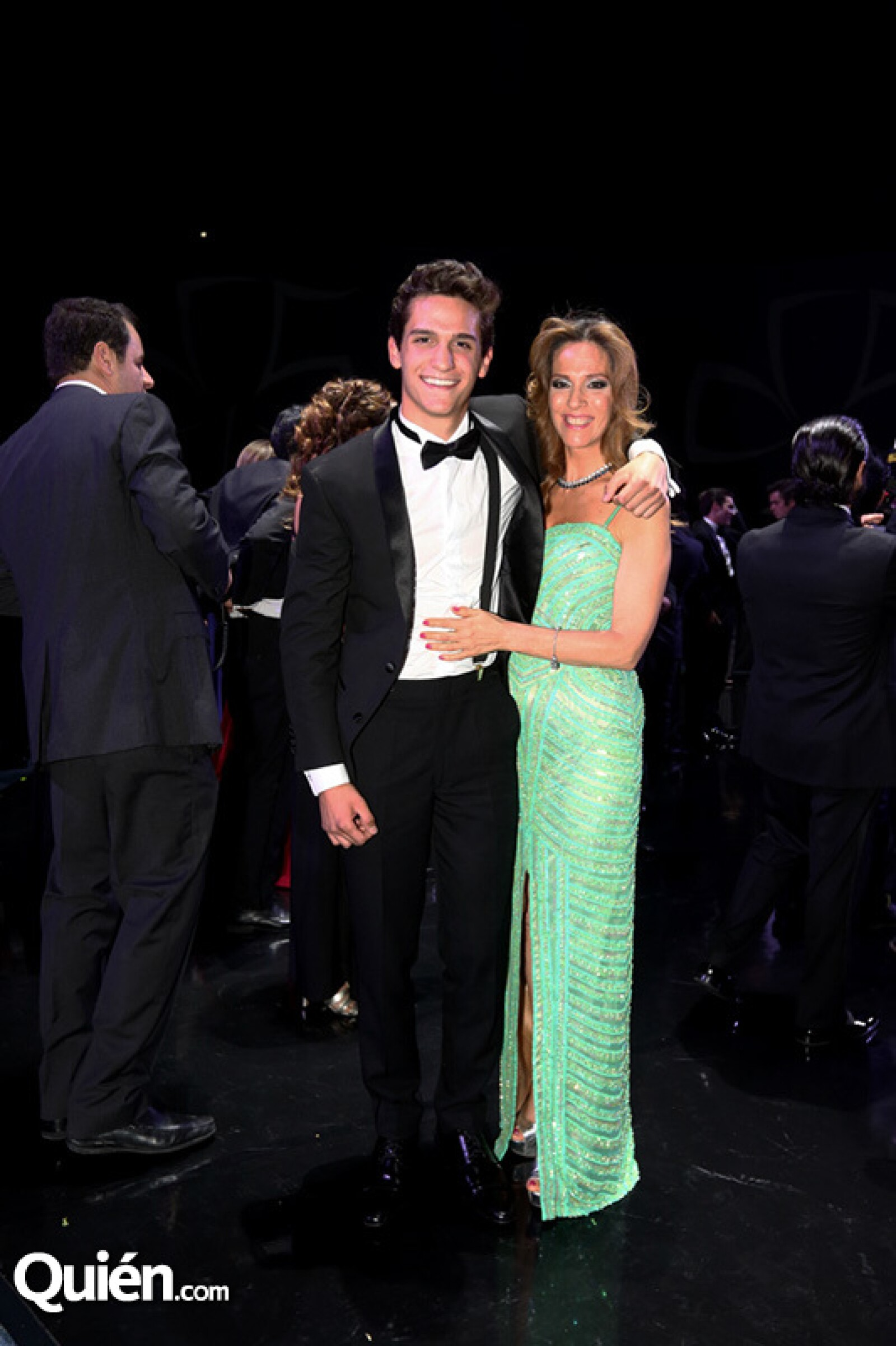 Andrés Cámara y Andrea Weber