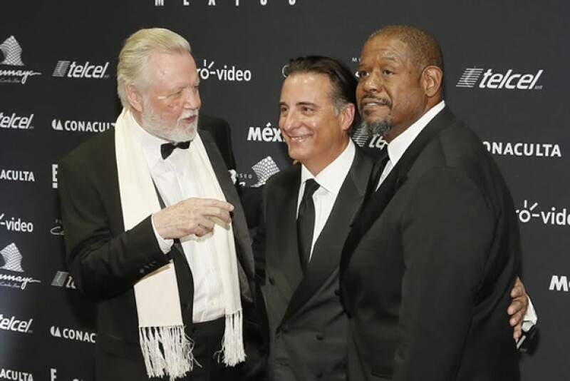 John Voight, Forrest Withaker y Andy García.
