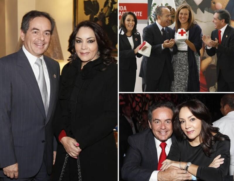 Daniel Goñi e Isabel Rojo.
