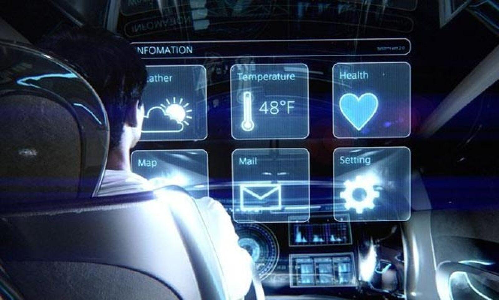 A su vez, su interior para tres personas también funciona en su totalidad como una pantalla modificable según el humor del conductor..
