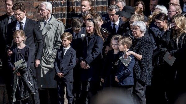 DENMARK: Funeral service for the three children of Bestseller CEO Anders Holch Povlsen victims of the Sri Lanka terror attack