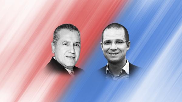 Los dirigentes nacionales del PRI, Manlio Fabio Beltrones, y del PAN, Ricardo Anaya, se han descalificado mutuamente a través de sus voceros.