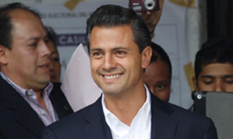El sector empresarial ve con beneplácito el triunfo de Peña Nieto, dicen expertos. (Foto: Archivo)