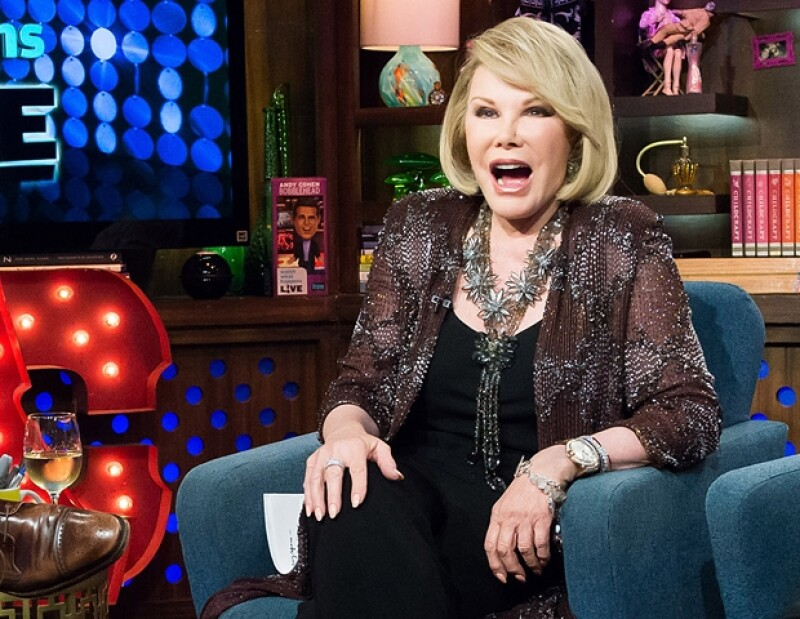 El día de hoy se anunció el fallecimiento de una de las grandes comediantes de nuestros tiempos y para los amantes de la moda y los espectáculos la noticia cae como un balde de agua helada.