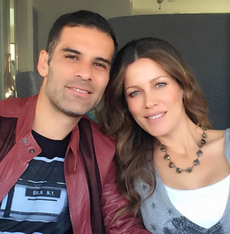 Rafael Márquez y Jaydy Michel llevan más de cinco años juntos.