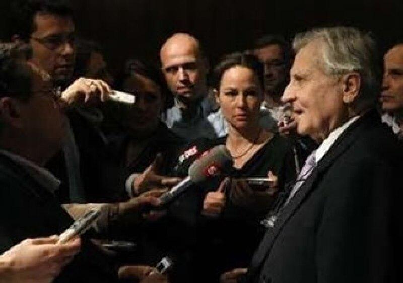 Trichet omitió comentarios respecto a la próxima decisión sobre als tasas en Europa. (Foto: Reuters)