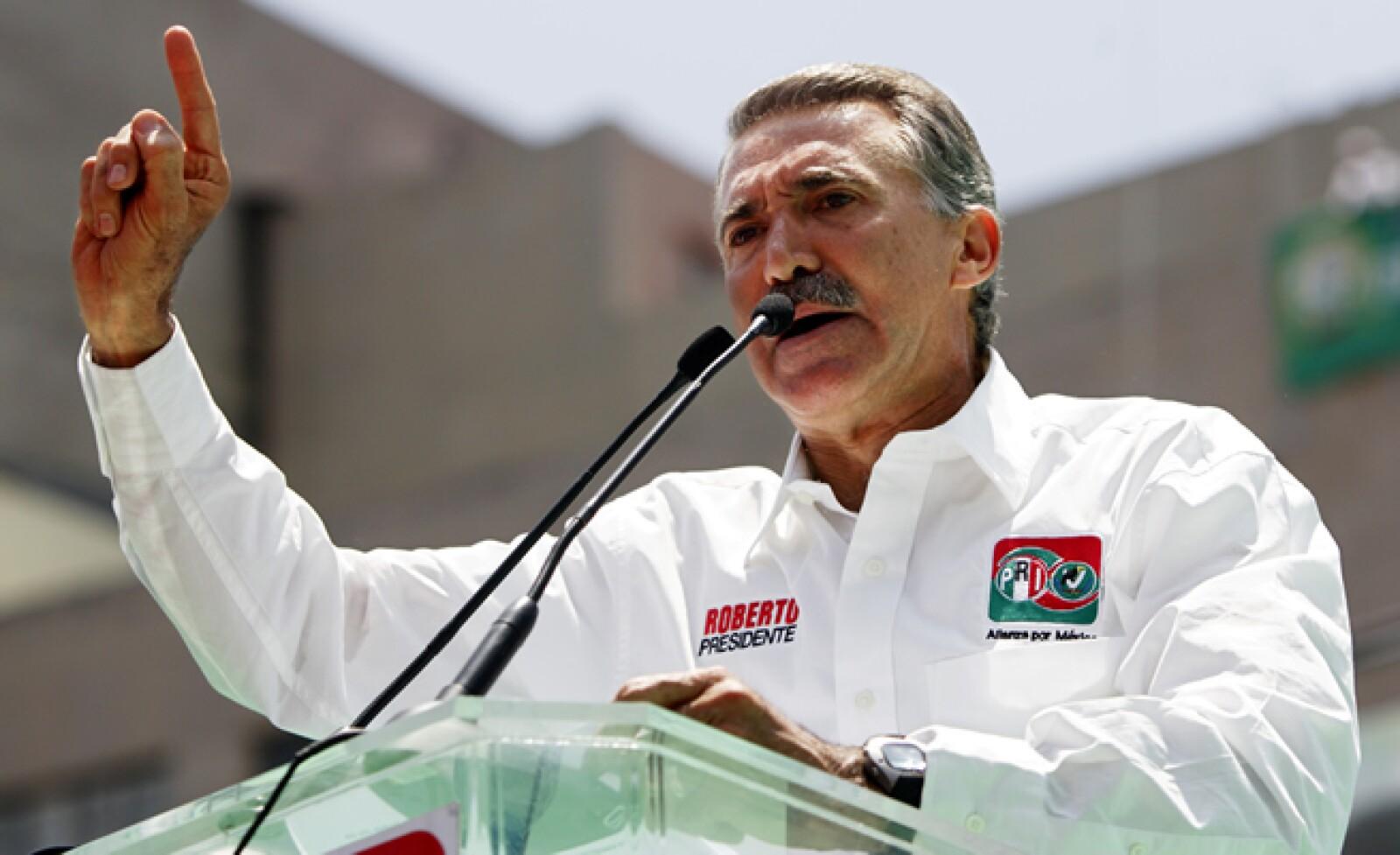 El tercer lugar en los comicios de 2006 actualmente respalda la candidatura e Enrique Peña, aunque sin mantener una vida activa en la política.