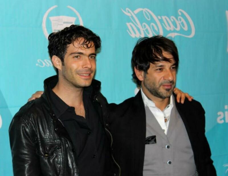 Osvaldo y Miguel presentaron la película en el reciente Festival Internacional de Cine en Hermosillo.