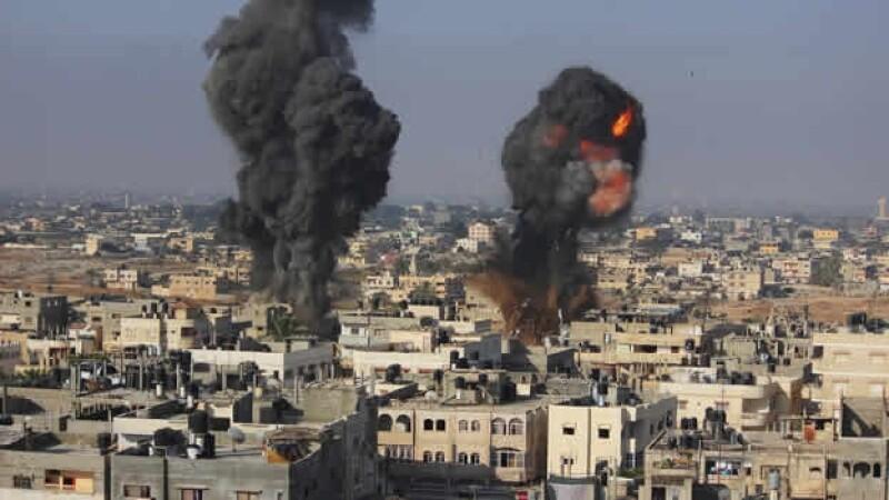 cohetes Israel Gaza conflicto