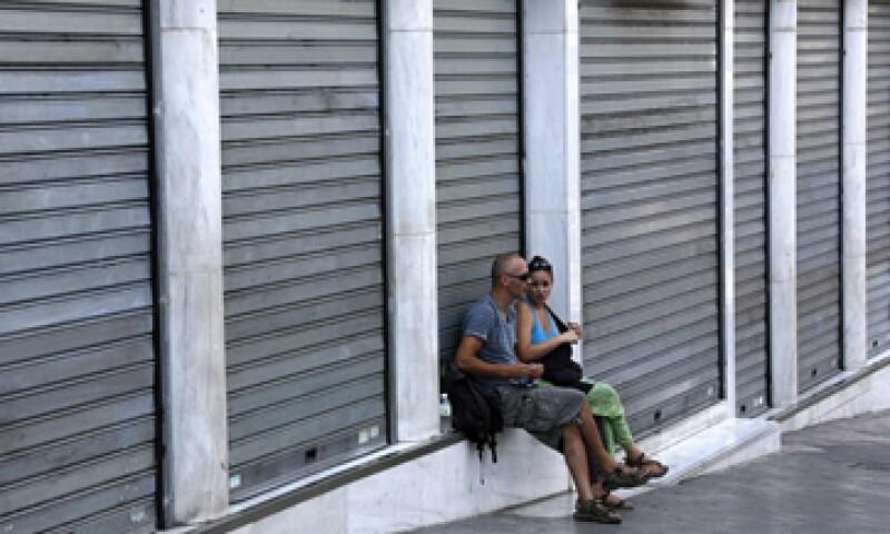 Grecia vio una de las mayores contracciones en 2012. (Foto: Reuters)