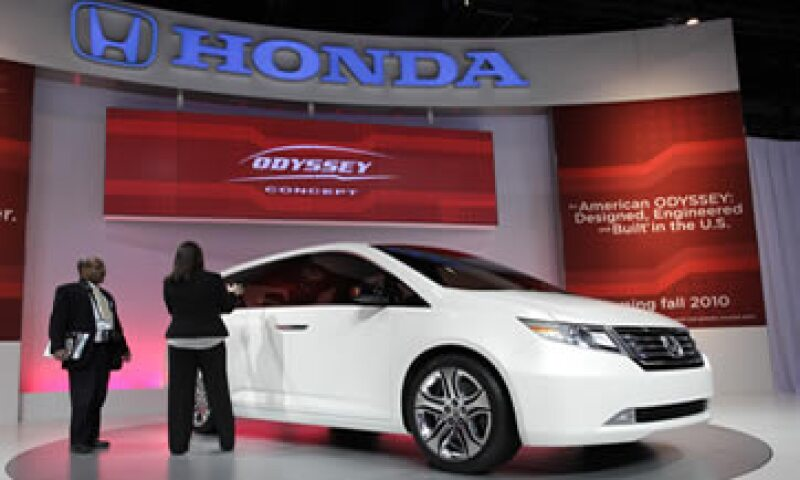 Los vehículos más vendidos de Honda México fueron el CR-V, el Civic y el Odyssey. (Foto: AP)