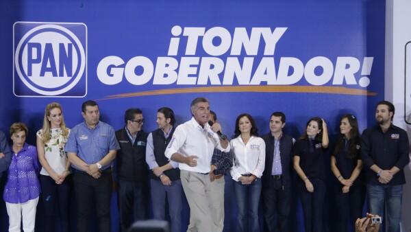 Antonio Gali Fyad ganó la elección de gobernador del estado con 869,978 votos.