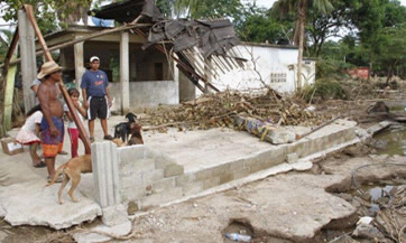 Las tormentas dejaron hasta el viernes un total de 147 muertos.(Foto: Notimex)