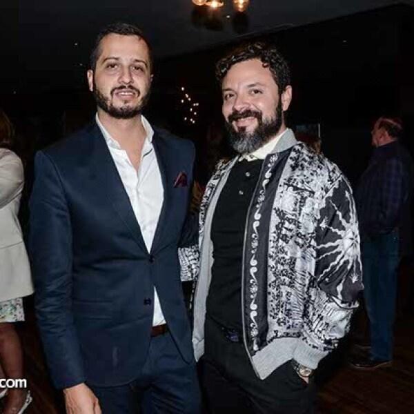 Enrique Pacheco y Alberto Castro.
