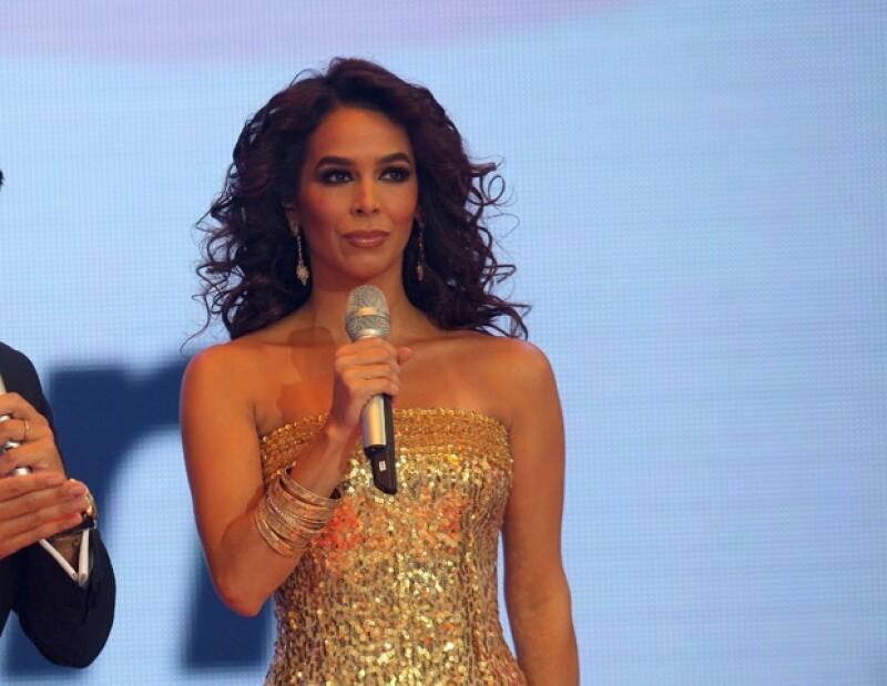 Bibi Gaytán recibió el apoyo del público en este nuevo proyecto para TV Azteca.