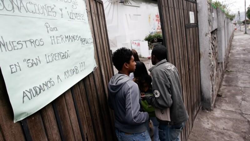 Refugiados colombianos en Ecuador